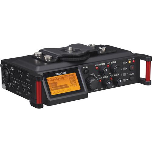 Tascam DR-70D Portable Recorder For Dslr
