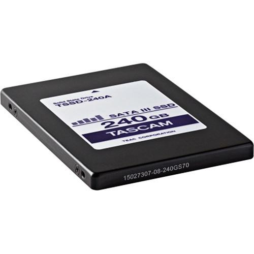 Tascam TSSD-240A 240Gb Solid-State Hard Drive For Da-6400