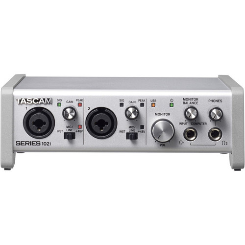 Tascam Series 102I 10 In/2 Out Audio/Midi Interface