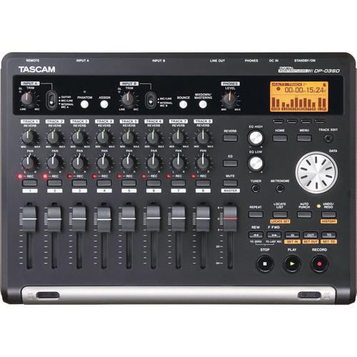 Tascam DP-03Sd Digital Multitrack Recorder