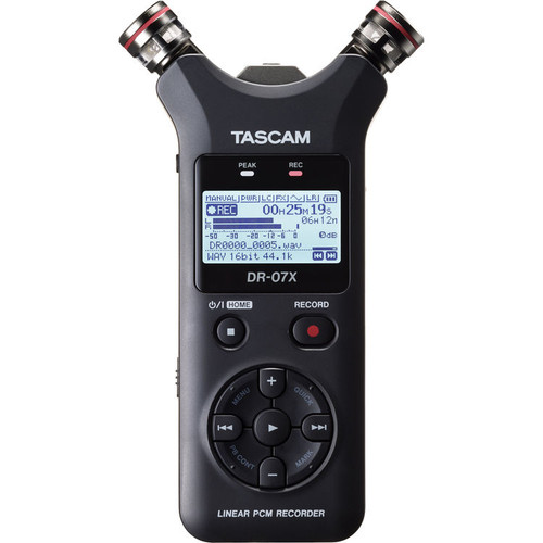 Tascam DR-07X Stereo Handheld Audio Recorder/Usb Interface
