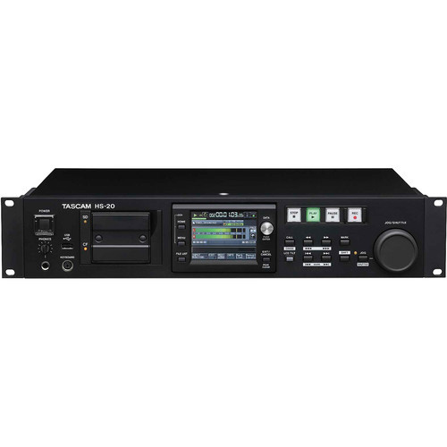 Tascam HS-20 Stereo Solid State Recorder For Networking