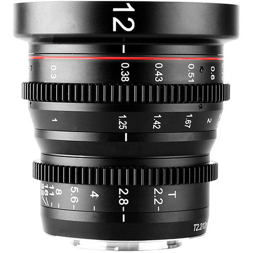 Meike Cinema Prime 12mm T2.2 MFT Lens