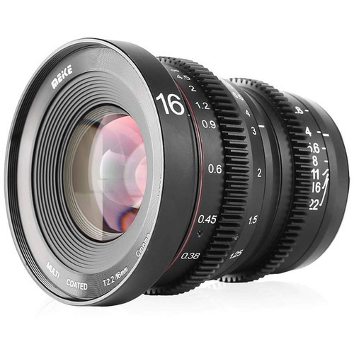 Meike Cinema Prime 16mm T2.2 MFT Lens