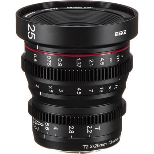 Meike Cinema Prime 25mm T2.2 MFT Lens
