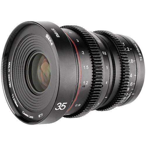 Meike Cinema Prime 35mm T2.2 MFT Lens