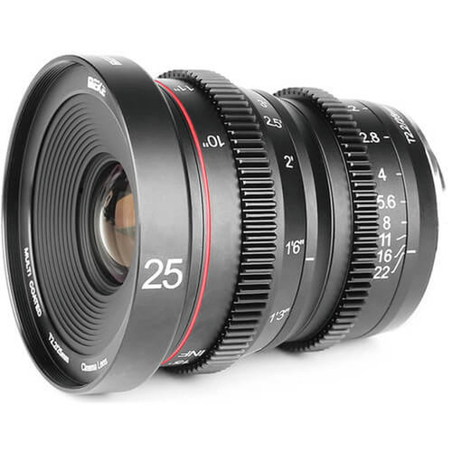 Meike Cinema Prime 25mm T2.2 Fuji X Lens