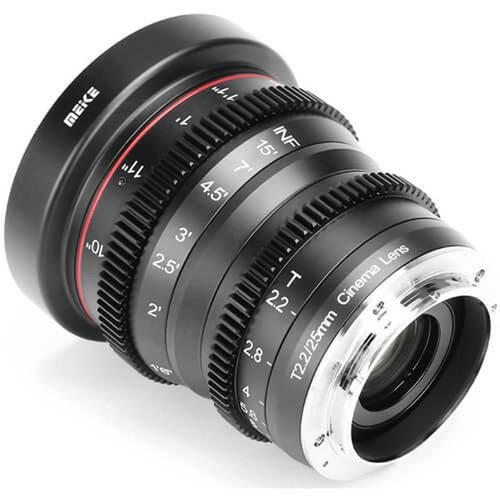 Meike Cinema Prime 25mm T2.2 Fuji X Lens
