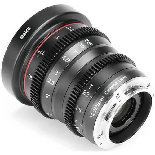 Meike Cinema Prime 25mm T2.2 Sony E Lens