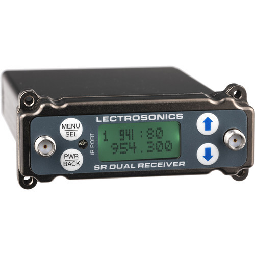 Lectrosonics SRc Dual-Channel Slot-Mount ENG Receiver