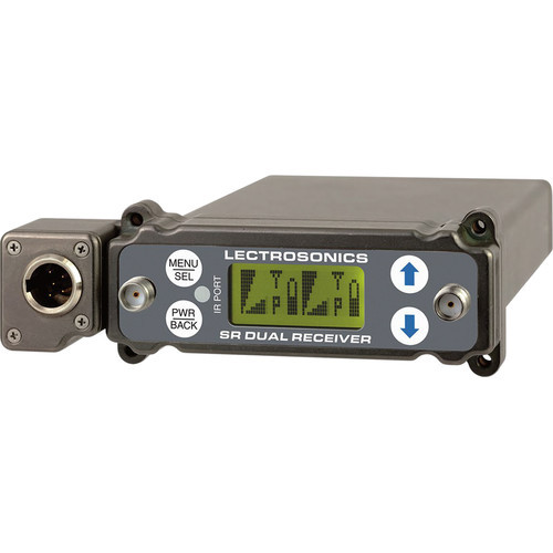 Lectrosonics SRc5P Dual-Channel Slot-Mount ENG Receiver (B1: 537.600-614.375 MHz)