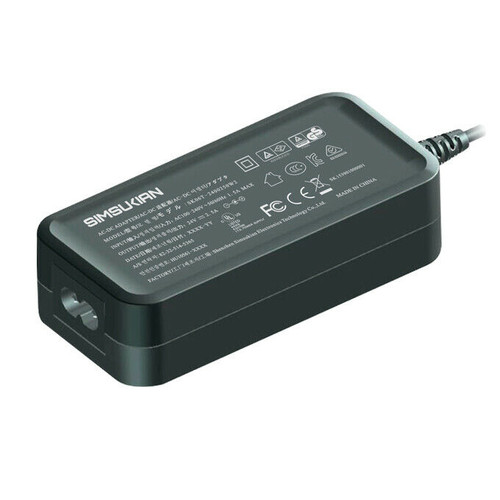 Simsukian SK05T Power Supply Adapter with Power Cable