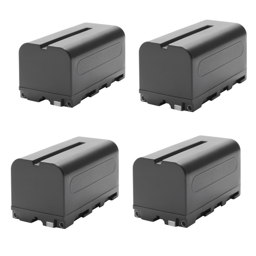 Generic NP-F750 Lithium-Ion Battery 4-Pack 7.2V-5200mAh USED