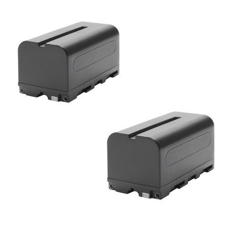 Generic NP-F750 Lithium-Ion Battery 2-Pack 7.2V-5200mAh USED