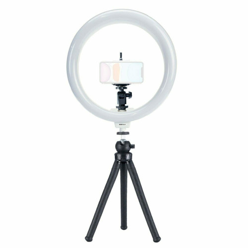 "Rizer 10"" Ring Light with Tripod, Ball Mount and Phone Mount"
