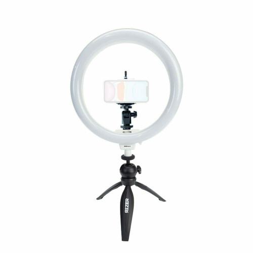 "Rizer 10"" Ring Light with Mini Tripod, Ball Mt. & Phone Mt."