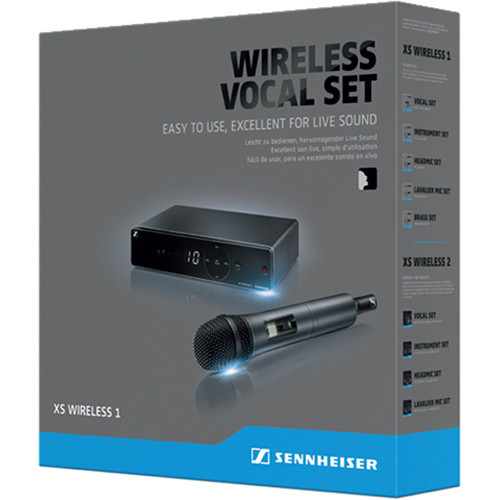 Sennheiser XSW 1-825-A Wireless Vocal Set