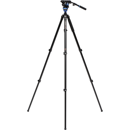 Benro Aluminum Single Tube Tripod - S6Pro Fluid Video Head