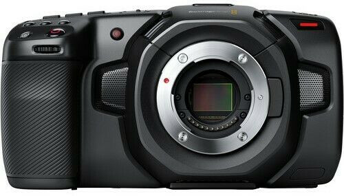 Blackmagic Design Pocket Cinema Camera 4K with Kondor Blue Half Cage