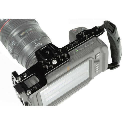 Blackmagic Design Pocket Cinema Camera 4K with Shape Cage & Handle