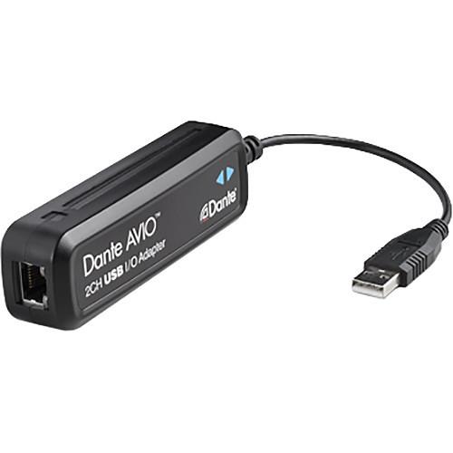 Dante AVIO ADP-USB-AU-2X2 USB IO Adapter 2x2