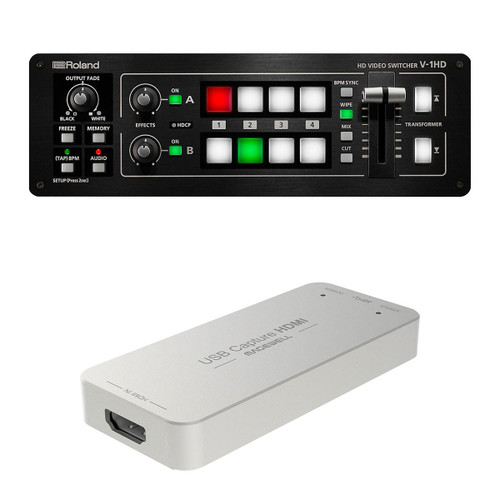 Roland V-1HD Live-Streaming Kit