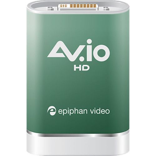 Epiphan AV.io HD USB 3.1 Gen 1 Video Grabber