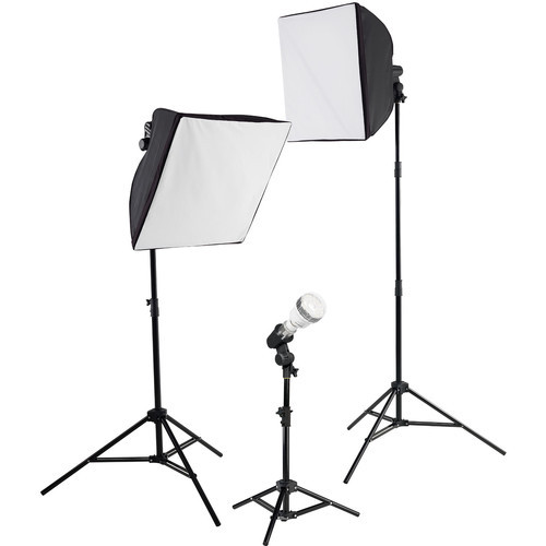 Westcott uLite LED 3-Light Collapsible Softbox Kit