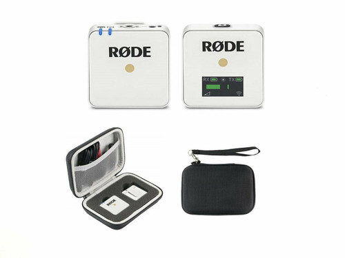 Rode Wireless GO (White) with Hard Travel Case