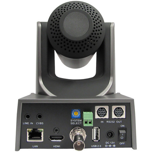 PTZOptics 30X-SDI G2 Live Streaming Broadcast Camera (Gray)