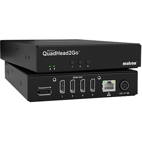 Matrox QuadHead2Go Multi-Monitor Controller Appliance