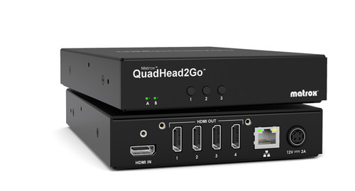 Matrox QuadHead2Go Q155 Multi-Monitor Controller Appliance