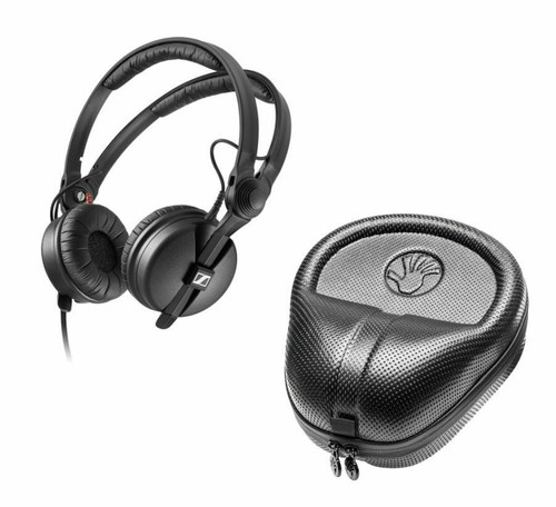 Sennheiser Headphones with Slappa HardBody Case