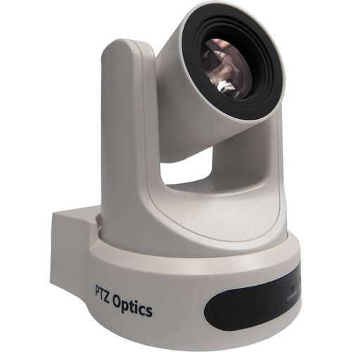 PTZOptics 30X-SDI Live Streaming Broadcast Camera (White)