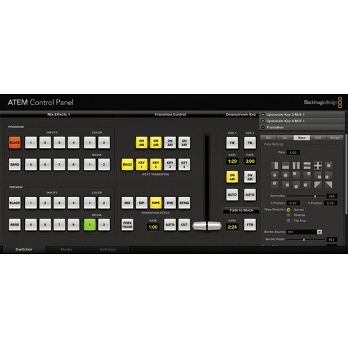 Blackmagic Design ATEM 2 M/E Broadcast Panel  by Blackmagic