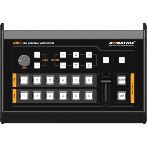 AV Matrix VS0601 Mini 6-Channel Multi-Format AV Switcher