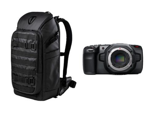 Blackmagic Design Pocket Cinema Camera 6K with Tenba Backpack