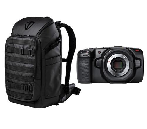Blackmagic Design Pocket Cinema Camera 4K with Tenba Backpack