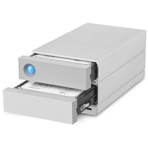 LaCie 32TB 2big Dock 2-Bay RAID Array Thunderbolt 3
