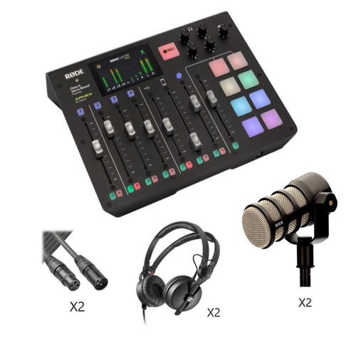 Rodecaster Pro Podcasting Kit