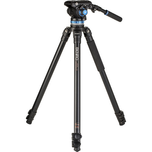 Benro A373F Aluminum Single-Tube Tripod & S6Pro Video Head