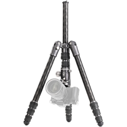 Benro Bat Carbon Fiber Tripod Kit with VX25 Ball Head