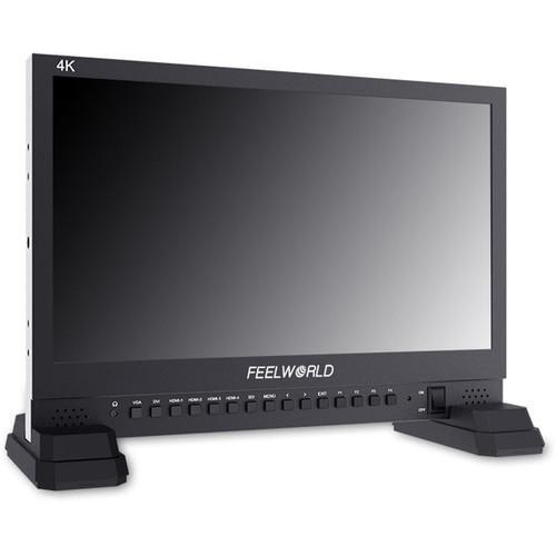 """FeelWorld 4K156-9HSD 4K156-9HSD 15.6"""" IPS 4K UHD Broadcast LED Monitor"""