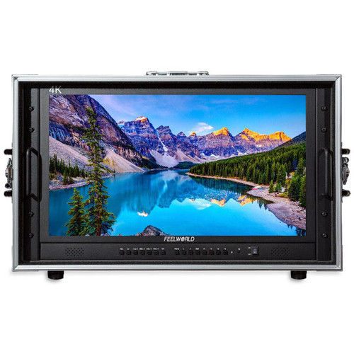 FeelWorld 4K238-9HSD-CO 23.8'' 4K Quad View Carry-On Broadcast Monitor