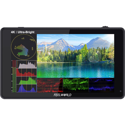 "FeelWorld LUT6 6"" HDMI Touchscreen On-Camera Monitor"