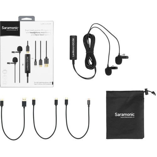 Saramonic LavMicro+DC2M 2-Person Digital Lav