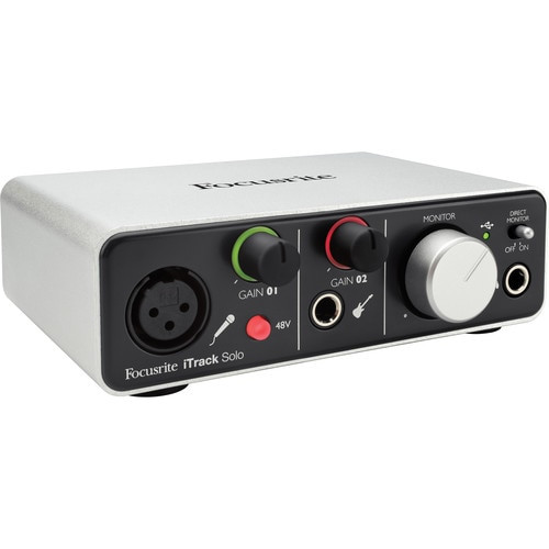 Focusrite iTrack Solo (Lightning) USB Audio Interface