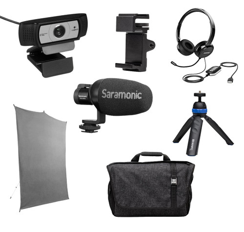 Saramonic HomeBase1 Kit with Logitech C930e Webcam