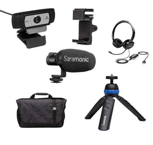 Saramonic HomeBase2 Kit with Logitech C930e Webcam