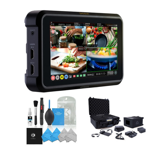 Atomos Shogun 7 with Accessory Kit and Cleaning Kit